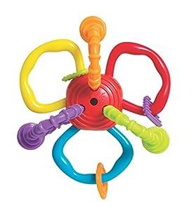 Tigex juguete de actividades sonajero 3d suave