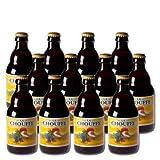 Lot de 12 bières belges Chouffe blonde 8° 33 cl