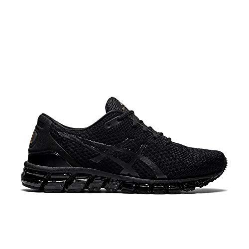 ASICS Hombres Gel-Quantum 360 Knit Lujo Correr Entrenamiento Deportes Zapatos de Atletismo 2021, color Negro, talla 45 EU