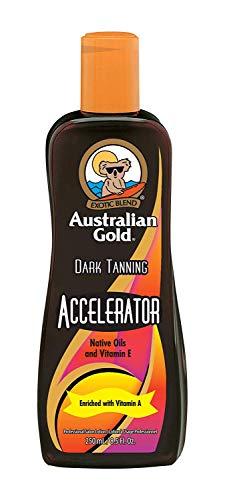 Australian Gold Dark Tanning Accelerator Lotion, 8 Fluid Ounce