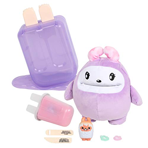 I Dig... Monsters Popsicle Pack - 1pc Jumbo Scented Plush With Miniature Collectable ASMR Toy | Fun & Cute Stress Relief Toy - Treats the Giant Plush Monji