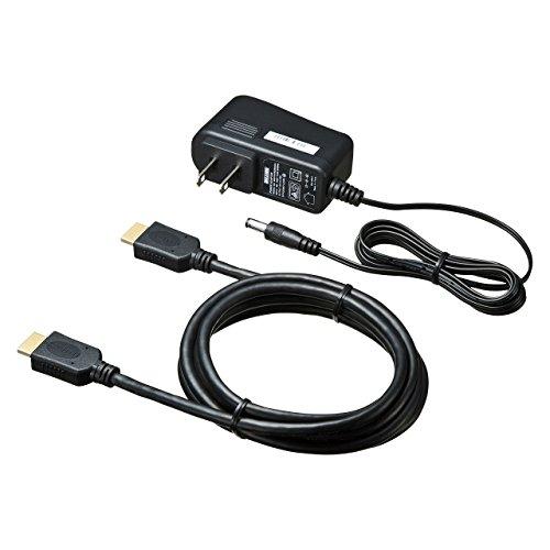 サンワサプライ4K/60Hz・HDR対応HDMI分配器(2分配)