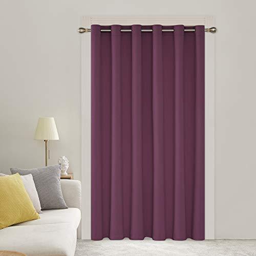 cortina fucsia de la marca Deconovo