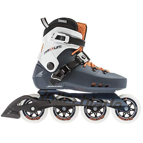 Rollerblade Unisex– Erwachsene MAXXUM Edge 90 Inline-Skate, Sapphire/orange, 290