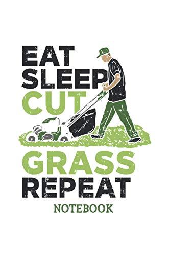 Cuaderno de cuidado del césped: Cuaderno de cuidado del césped para jardinero o paisajista. 120 páginas, rayado.