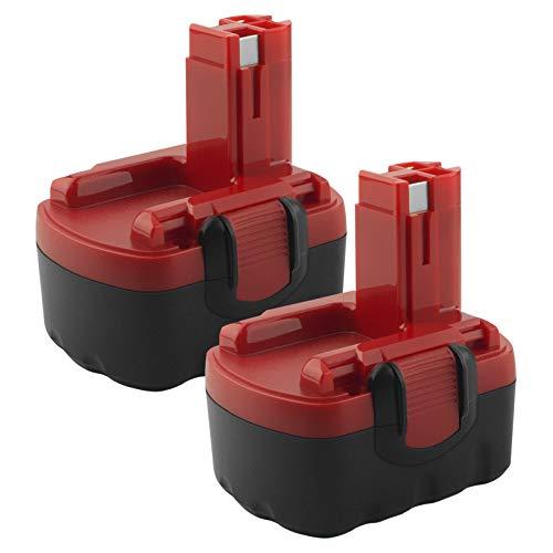 EICHXO 2 Paquetes de Batería Ni-MH de 3500 mAh Compatible con Batería Bosch de 14,4 V PSR BAT159 BAT038 BAT040 BAT041 BAT140 2607335685 2607335533 2607335711 2607335263 2607335534