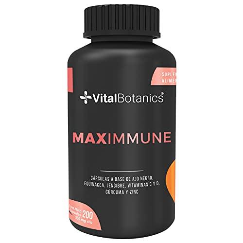 VitalBotanics. Suplementos para tu sistema inmune con Vitamina C 200 capsulas....