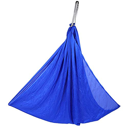 Outdoor Portable Mini Garden Courtyard Hanging Swing Hammock Chair Set for Children Kid (1.5m -Royal Blue)