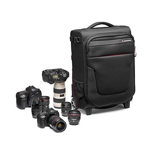 Manfrotto MB PL-RL-A50 Reloader Air 50 Professionelle Foto-Rolltasche für DSLR, Reflex, CSC Premium Kameras, Trolly für bis zu 2 Kameras und Objektive, mit einer 15
