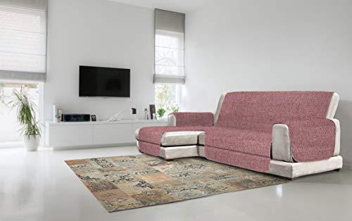 Italian Bed Linen Copridivano Antiscivolo Comfort con Penisola SX, Bordeaux, 240 cm