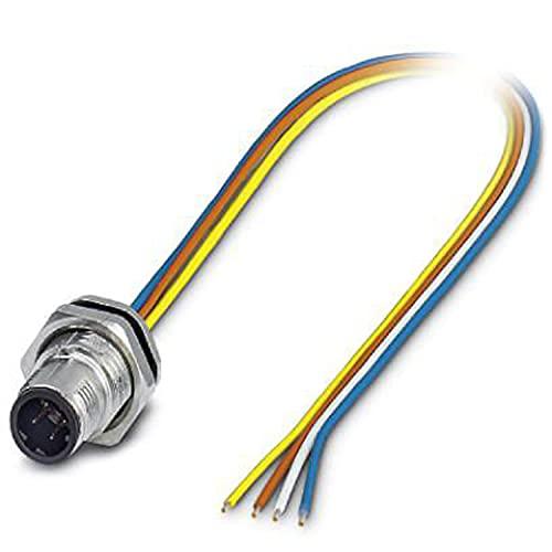 Phoenix - Conector enchufable sacc-dsi-m12msd-4p-m16xl/0,5