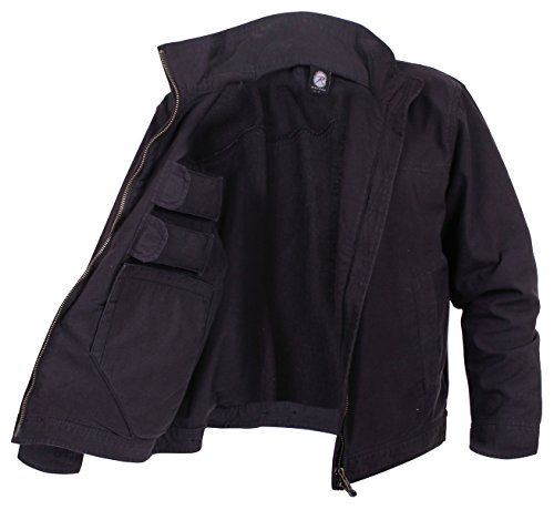 Rothco Lightweight Concealed Carry Jacket, Black, 2X