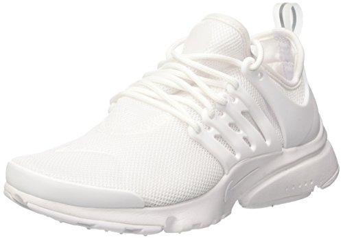 Nike Wmns Air Presto Ultra Br, Scarpe da Ginnastica Donna, Bianco (White/White/Glacier Blue), 39 EU
