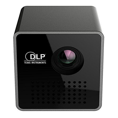 JIAN YA NA Mini LED Projector Portable Wireless Pocket WiFi DLP Multimedia Video Household Best Home Cinema Theater