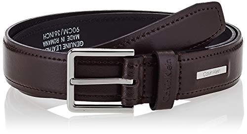 Calvin Klein K50k505291 conjunto bufanda, gorro y guantes, Negro (Dark Brown Bao), 80 para Hombre