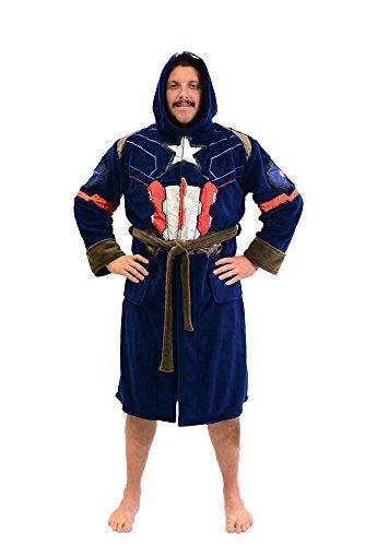 Captain America Adult Fleece Robe Standard