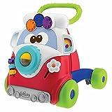 Chicco Gioco Primi Passi per Bambini Happy Hippy 2in1 con Centro Attività Manuali, Pulmino Primi Passi...
