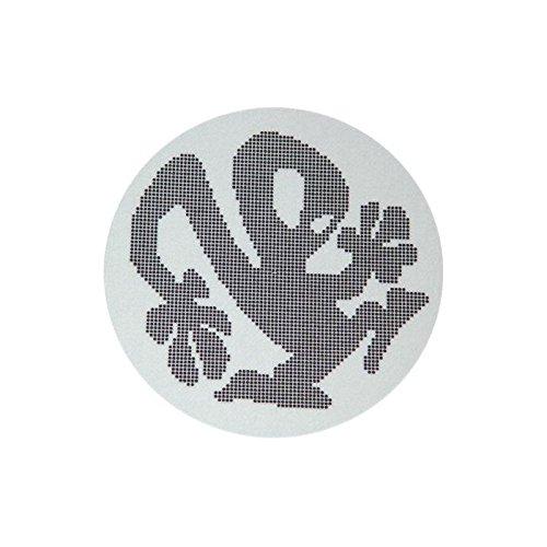 slipmat-Factory Plasticman Silber Slipmat, 2 Stück