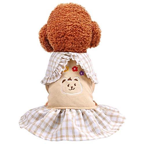 N/A Ropa para Perros Ropa Cálida De Invierno para Mascotas Abrigo para Perros Ropa De Algodón para Perros Ropa para Gatos Y Mascotas para Perros Pequeños Y Medianos Ropa para Perros