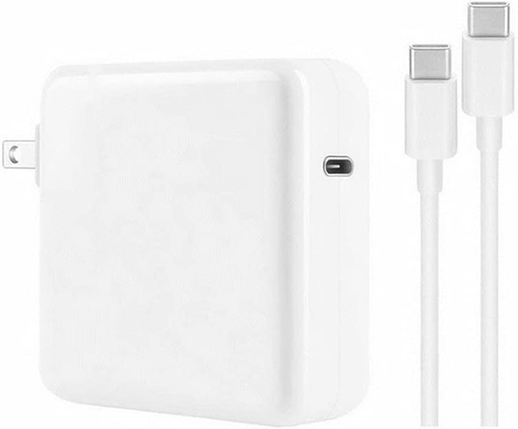 Mac Book Pro Charger, Fast 96W MacBook air Charger USB C Power Adapter Compatible with MacBook Pro 16, 15, 13 inches 2020/2019/2018, Type-c Fast Charging PD Charging Cable