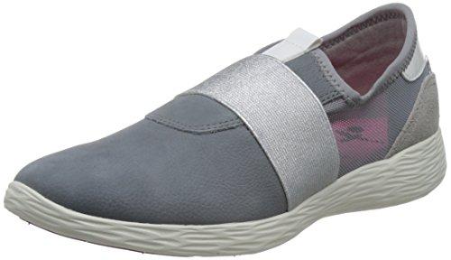 Tamaris Damen 24729 Sneakers, Grau (Steel Comb 206), 38 EU