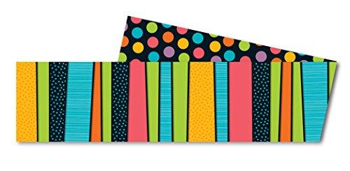 Carson Dellosa Styling Stripes Straight Borders (108204)