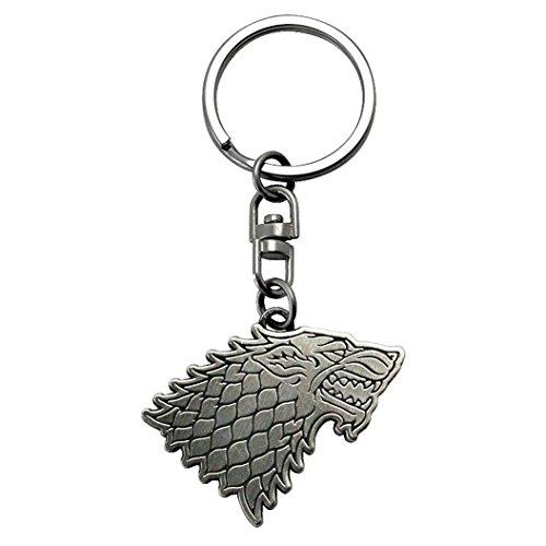 Llavero Game of Thrones - Escudo de Armas Casa Stark