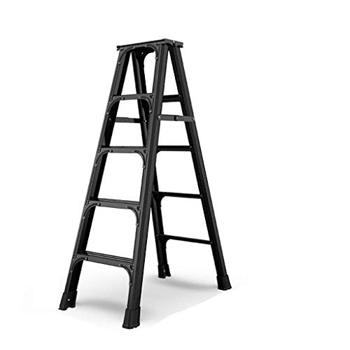 Double Ladder, Dual-purpose engineering Stepladders Safety ladder Non-slip Lichtgewicht Ladder Multifunctionele Step Stool (Maat: 45 * 82 * 116cm) XIUYU (Size : 49.5 * 98 * 147cm)