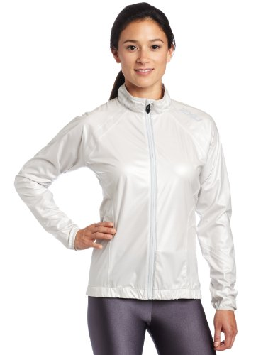 Big Sale 2XU Women's Road Combat Spray Cycle Top,Sterling/Sterling,Small