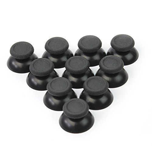 10x Thumbsticks Schwarz Joysticks Joystick Controller Thumbsticks Kappe Caps für Sony PS4