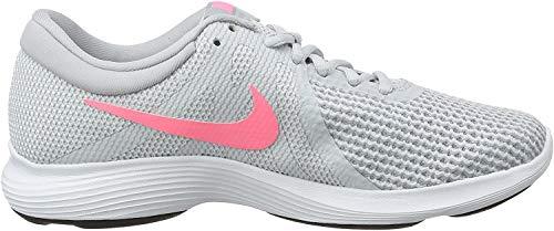 Nike Wmns Revolution 4 EU, Zapatillas de Running para Mujer, Gris, 38.5 EU