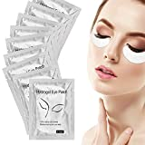 Joyeah 100 Pairs Under Eye Pads Lint Free Eye Gel Pads for Eyelash Extension Supplies/Eye Mask Beauty Tool
