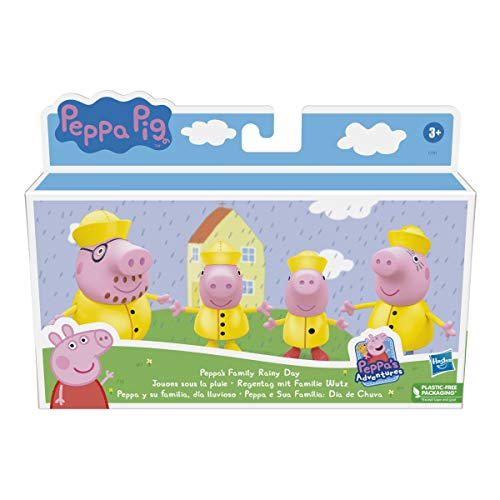 Peppa Pig- Pep PEPPAS Family Rainy Day, F21935X1