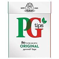 Pgのヒントは、1パックティーバッグ80をピラミッド (x 6) - PG tips Pyramid Teabags 80 per pack (Pack of 6) [並行輸入品]