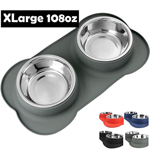 Snappies Petcare Removable Stainless Steel Bowl Set
