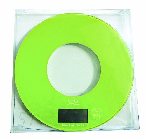 Jata Hogar 722P - Balanza electrónica, visor LCD, 4 dígitos, 6 kg (surtido)