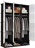 dh-4 Kleiderschrank Einfacher Kleiderschrank Schrank Tragbare Kommode Kunststoff Aufbewahrungsorganisator Schrank Schlafzimmer Würfel Schlafzimmer Kleidung Aufbewahrungsschrank Kleiderschrank