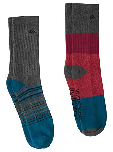 Quiksilver Multi - Crew Socks for Men - Crew Socken - Männer - 10-13 - Rot