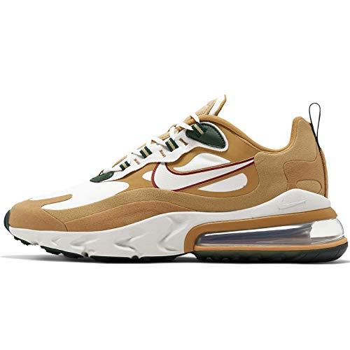 Nike Air Max 270 React - Club Gold/Light Bone-flt Gold-Wheat, Größe:6.5