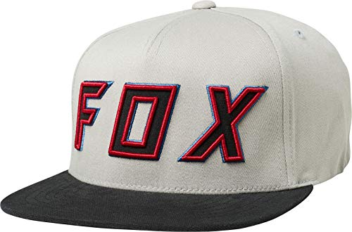Fox Gorra Snapback Posessed de Beisbol Baseball (Talla única - Gris Claro)