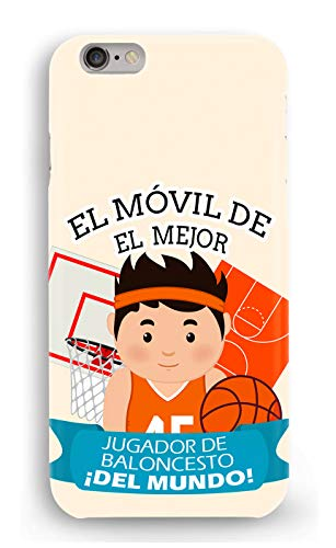 Funda Carcasa Jugador de Baloncesto para LG G3 G4 G5 G6 K4 K7 K10 2017 plástico rígido