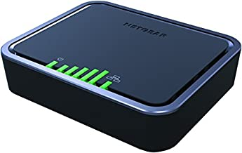 NETGEAR 4G LTE Modem – Instant Broadband Connection | Supports Power over Ethernet | works with AT&T and alternate carriers (LB1121)