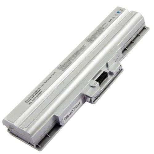 Informatic Batteria Ricaricabile SONY VGP-BPS13S, Li-ion, 10,8V, 4400mAh, 48Wh, Argento