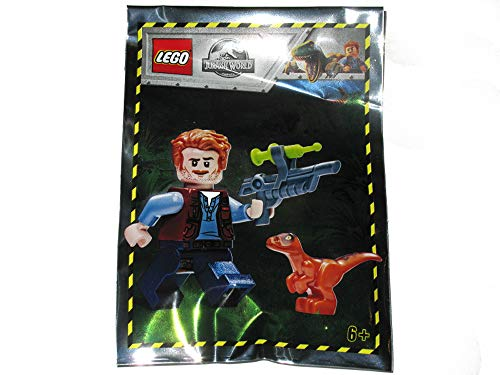 LEGO - Jurassic World - Owen with Baby Raptor - Foil Pack