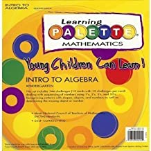 Kindergarten Math Learning Palette Intro to Algebra Concepts