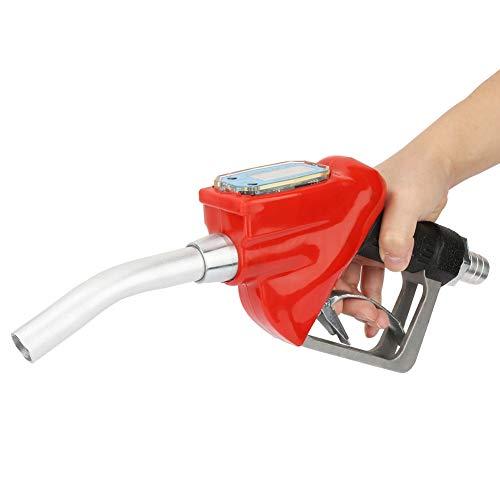 Boquilla de Suministro de Gasolina, Pistola Dosificadora Electrónica para Suministro de Combustible, con Batería