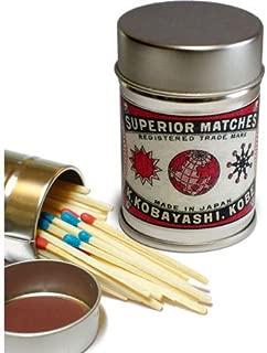 レトロラベル缶マッチ・月シリーズ003