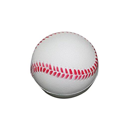 Pixnor Baseball Palle 12X 63mm NUOVE Norm molle Schiuma PU pratica Baseball per studenti e principianti