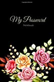 My password notebook: The Premium Logbook To Protect Usernames and Passwords - Login and Private Information Keeper, Vault Notebook and Online ... Design ( 120 pages with page numbers )