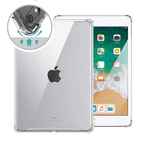 of tpu cases for ipads ORIbox Clear Case for iPad Pro 1st/2nd,iPad Air 4th,Clear TPU Back Cover for iPad,11 inch,Clear